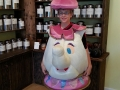 Mrs. Potts imposter for a photo-op!