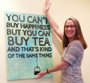 Cheryl Burlingame, Proprietress, Mimi's Teas