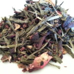 Hibiscus Flower, Wlld Cherry Bark, Rose Hips, Orange Peel, Lemon Grass, Spearmint Leaf, Natural Flavor, Licorice Root